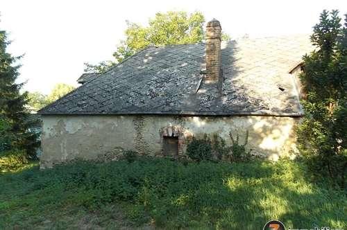 Nähe Oberpullendorf: Großer Grund mit 2 alten Häusern
