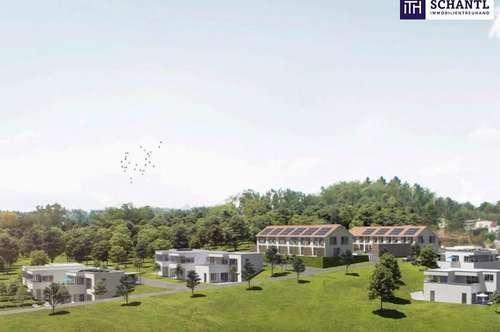 GENIAL: HOCHWERTIGER MAISONETTEN-TRAUM mit großzügiger Terrasse + atemberaubenden FERNBLICK + Garten + Ruhelage in 8075 Hart bei Graz!