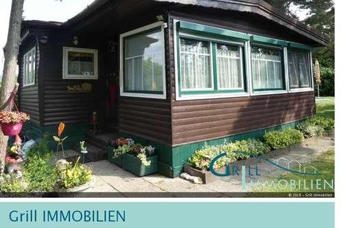 Idyllisch gelegenes Holzblockhaus - ganzjährig bewohnbar!