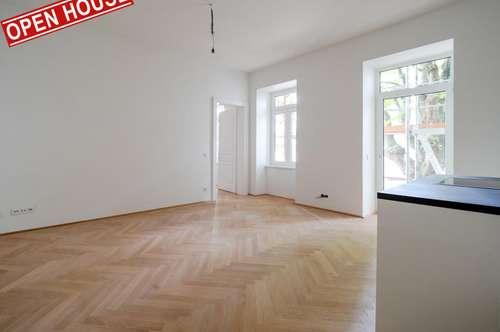 Erstbezug, Schlüsselfertig, Charmante 2-Zimmer Wohnung + Balkon (Hofseitig), Hoch-Exklusive und Modern