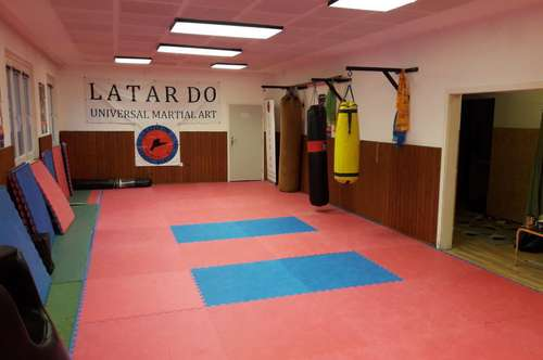 Lokal zu vermieten im Wien 20, um 130 m2. Geeignet als Sport und Seminarraum, eine Studie oder Kindergarten.