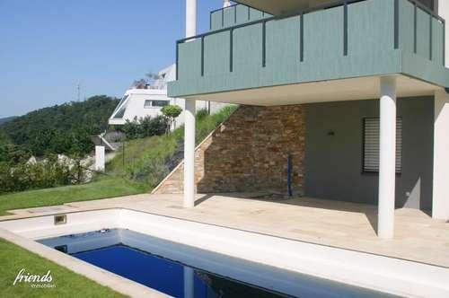 HAUS BLU - Gartenwohnung mit Pool und zwei Garagenplätze