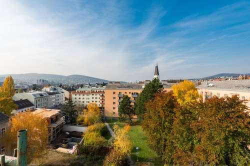 1140 Wien: Dachgeschoßausbau in Stilaltbau -  Nähe U4 Unter St.Veit