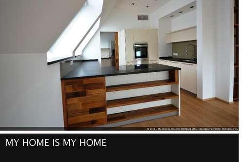 LIEFERING | Penthouse-Wohnung mit Aircondition, 2 Terrassen und edler Design-Ausstattung