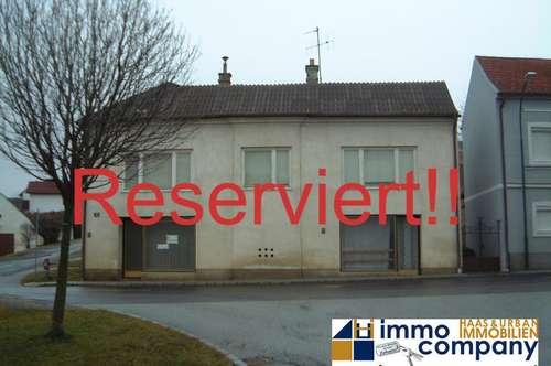 Provisionsfreies altes Haus mit 2 Geschäftsräumen in der Grenzennähe. Fragen Sie nach den Grundrissplänen!