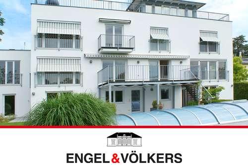 Traumblick: Moderne Villa am Maurer Berg