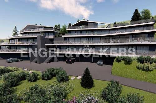 """Wohnprojekt """"Terrassenwohnungen"""" Millstatt mit grandiosem Seeblick - Wohnung TOP-A2"""