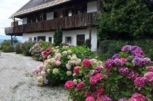MIETE mit Wörtherseeblick in Kärntner Bauernhaus
