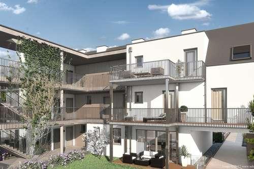 Ruhige Drei-Zimmer-Neubau-Wohnung im Zentrum von Brunn am Gebirge