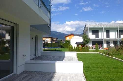 Neubau: 3-Zi-Gartenwohnung mit TG-Platz
