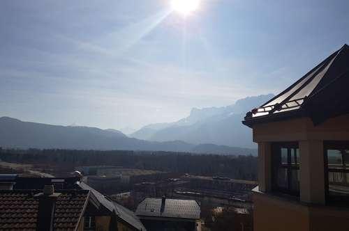 Puch bei Salzburg : Herrliche 3-Zi.-Whg. mit 35m2 -Terrasse und Traum-Bergblick + 2 PP !!