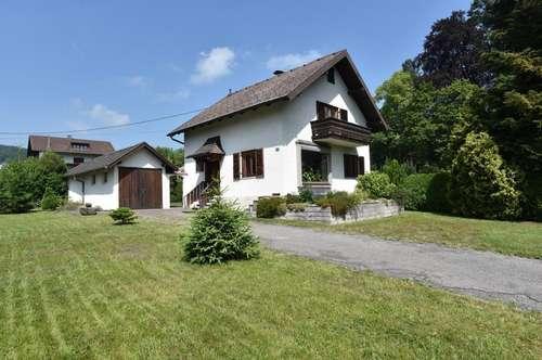 Kleines Einfamilienhaus mit Traunsteinblick in Seenähe