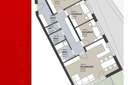 Familie zu Hause- 4 Zimmer Neubauwohnung, provisionsfrei