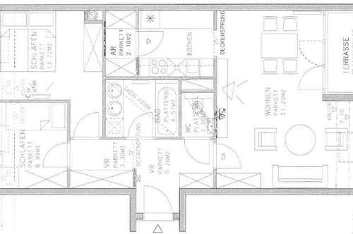 """Schmid Immobilien Management - """"Ruhig gelegene 3-Zimmer Wohnung mit Terrasse."""""""