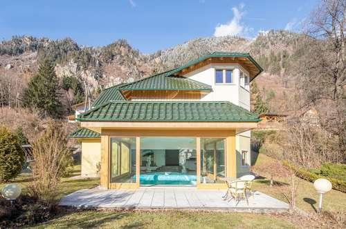 Reizende Villa mit Blick über den Millstätter See