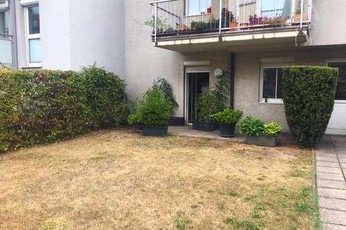 Singlewohnung mit Garten