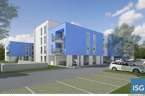 """Neubauprojekt """"living blue"""" in Braunau, Michaelistraße, Eigentumswohnung Top 13, Typ C"""