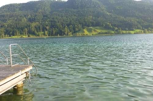 Sehr schönes Seegrundstück am reinsten Badesee Kärntens