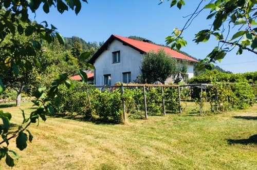 Wohnhaus mit großem Grundstück im Unterkärntner Seengebiet