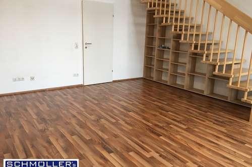 Sehr helle 2-Zimmer-Galerie-Wohnung mit 2 Terrassen&Parkplatz