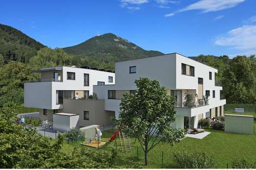 Feine 3-ZI-TERRASSEN-Wohnung mit viel Privatsphäre! Neubau in Parsch!