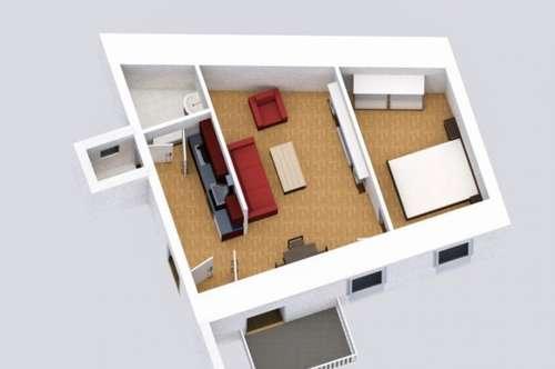 Perfekte Kleinwohnung in reiner Innenhoflage! Top Erstbezug nach hochwertiger Sanierung! PROVISIONSFREI!