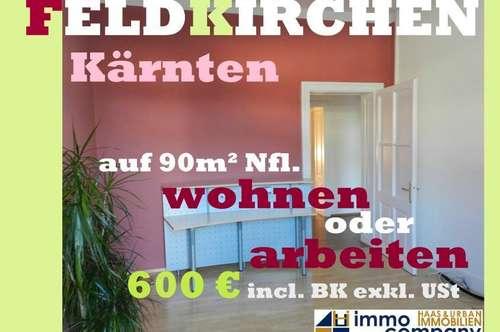 Feldkirchen/Kärnten: hübsche Altbauwohnung zum wohnen oder arbeiten geeignet