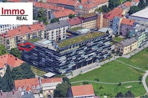 3-Zimmerwohnung mit großem Balkon in zentraler 8010 Lage!