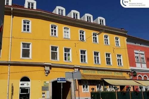 Altbauwohnung: 2 Zimmer getrennt begehbar - WG-geeignet - nahe TU/Innenstadt - Schießstattgasse 2-4 - Top 04