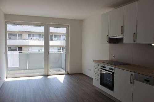 2-Zimmer-Wohnung mit Balkon - WG tauglich