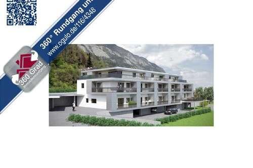 Neubauprojekt Stans - 4 Zimmer Terrassenwohnung