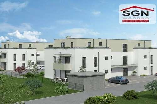 Erstbezug:geförderte 3-Zimmer Wohnung inkl. Balkon und Parkplatz