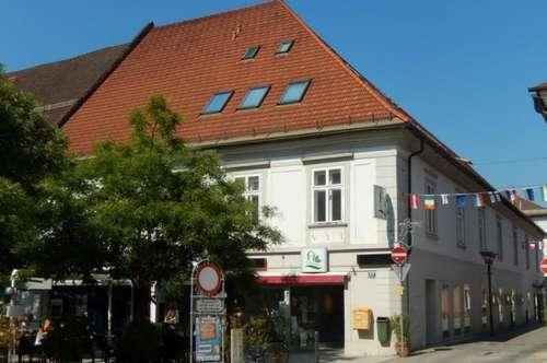Vermietetes Lokal, ideal für Anleger, am Hauptplatz von Völkermarkt