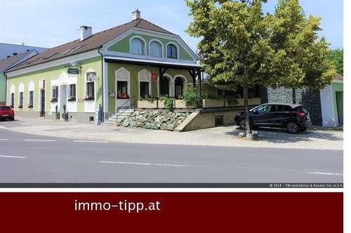 Arbeiten und Wohnen unter einem Dach! Gasthaus & Kaffeehaus mit viel Potenzial im Zentrum von Lackenbach