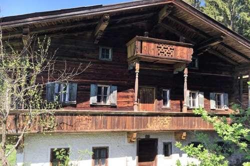 Original Kitzbüheler Bauernhaus