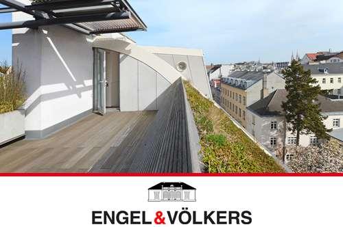 Natur & Design in City-Dachgeschoss