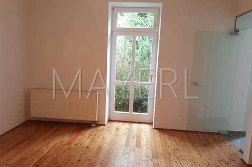 Wohnung mit 200 m² Eigengarten - unbefristet