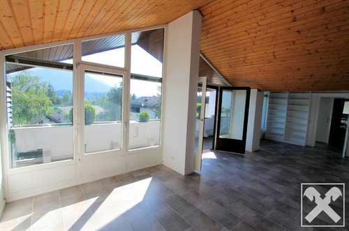 3-Zimmer-Dachgeschoss-Panorama-Wohnung in Elsbethen