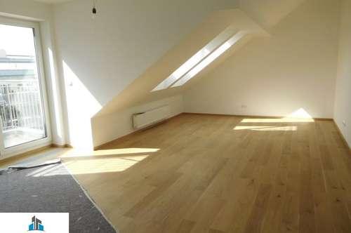 Neue Dachgeschoßwohnung - Sonnenterrasse - toller Fernblick