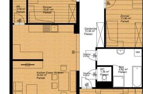 Gemütliche 4-Zimmer-Wohnung ab 2019!