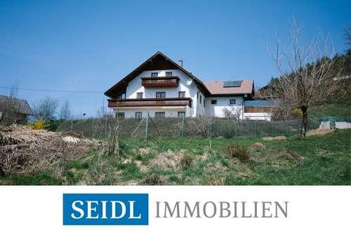 Wohnhaus mit Karawankenblick in ruhiger Lage