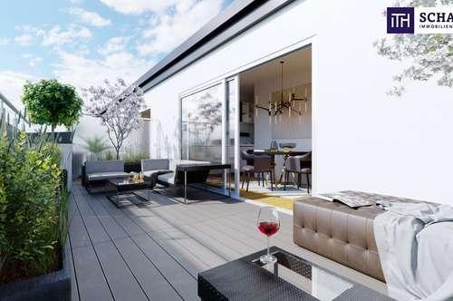 Ab ins Dachgeschoss mit Traumterrasse! Perfekte Raumaufteilung + Hofseitiger Balkon und Terrasse + TOP-Ausstattung + Ideale Infrastruktur!