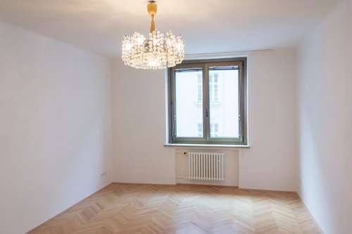 Geräumige Zwei- Zimmer Wohnung im 1. Bezirk gegenüber der Oper, Warmmiete!