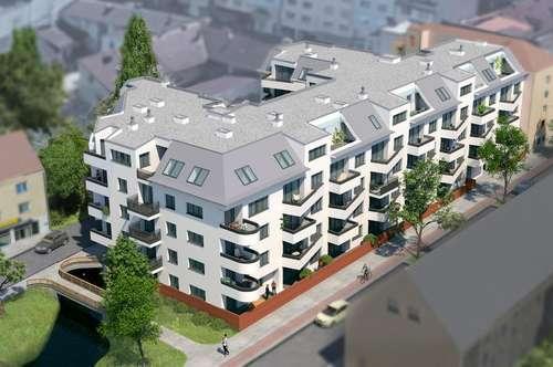 Dachgeschosswohnung 4 Zimmer am Rathausplatz