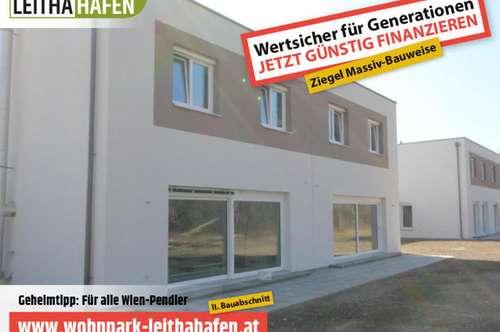 Haus 16! Doppelhaushälfte im Wohnpark Leithahafen! -wpls