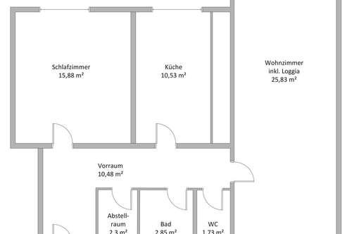 Privatverkauf: Frisch renovierte 70m² Wohnung mit moderner Küche nach Maß, Wohnzimmer inkl. Erker, Schlafzimmer