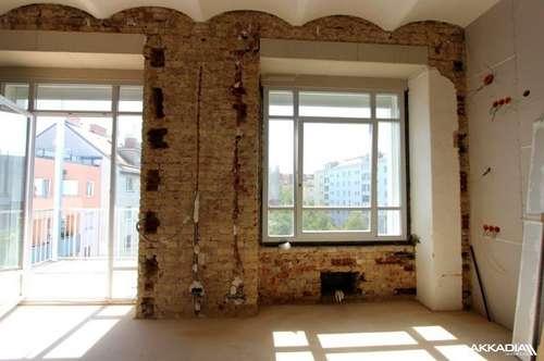 "All you need is a LOFT   Traumhafte 112m² Wohnung mit Frühstücksbalkon   ""Peeptoes Balconyflat"""