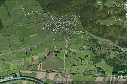 landwitschaftliche Fläche bei Reisach Gailtal nahe Nassfeld / Hermagor