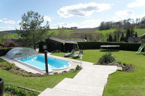 Luxus Panoramalage in Thal mit Pool