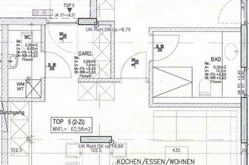 NEUBAU: 2-Zimmer-Dachgeschoßwohnung mit toller West-Terrasse